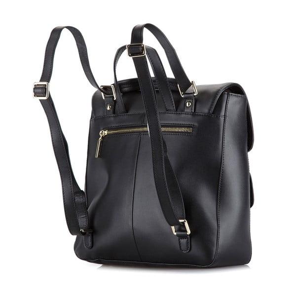 Kožená kabelka/batůžek Elegance Black