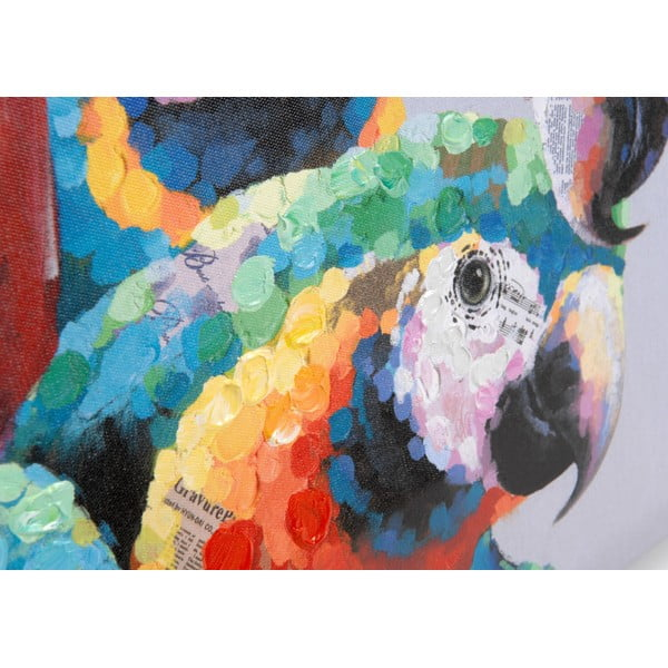 Obraz na plátně Parrots, 100x50 cm