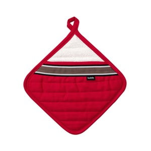 Červená podložka pod horké nádoby Ladelle Professional Series