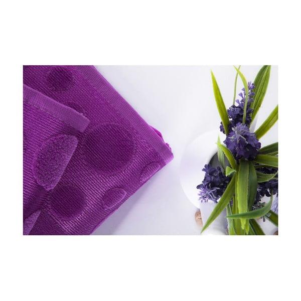 Set dvou ručníků Tropical Plum Color, 70x140 a 50x90 cm