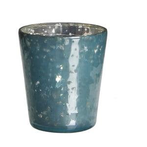Stojan na svíčku Benito Blue, 7x7 cm