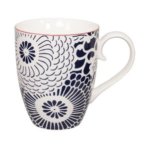 Modro-bílý porcelánový hrnek Tokyo Design Studio Shiki, 380ml