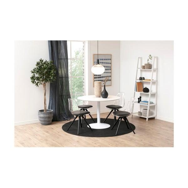 Bílý kulatý jídelní stůl Actona Ibiza, ⌀110cm