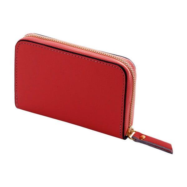 Leather piros pénztárca valódi bőrből - Andrea Cardone