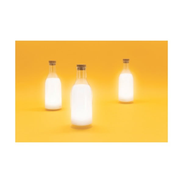 Světlo ve tvaru lahve s mlékem Luckies of London Milk