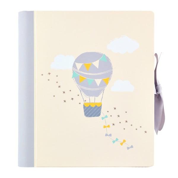 Béžový denník bábätka Busy B
