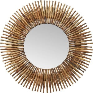 Zrcadlo Kare Design Spiegel Sunlight, ø 120cm