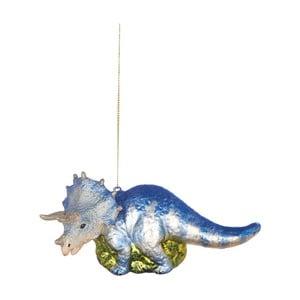 Vánoční závěsná ozdoba ze skla Butlers Dinosaurus
