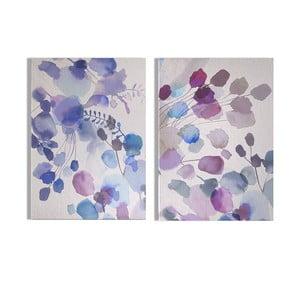 Sada 2 obrazů Graham & Brown Expressive Blooms, 50 x 70 cm