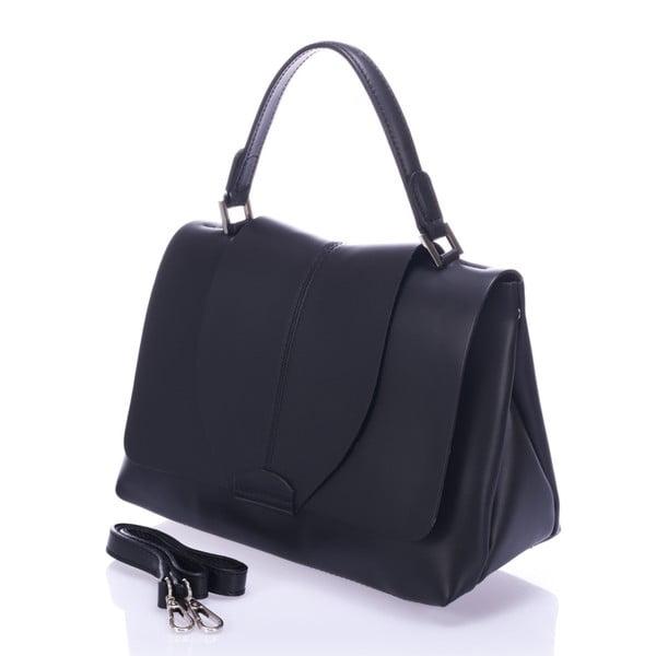 Černá kožená kabelka Giorgio Costa Mijoria
