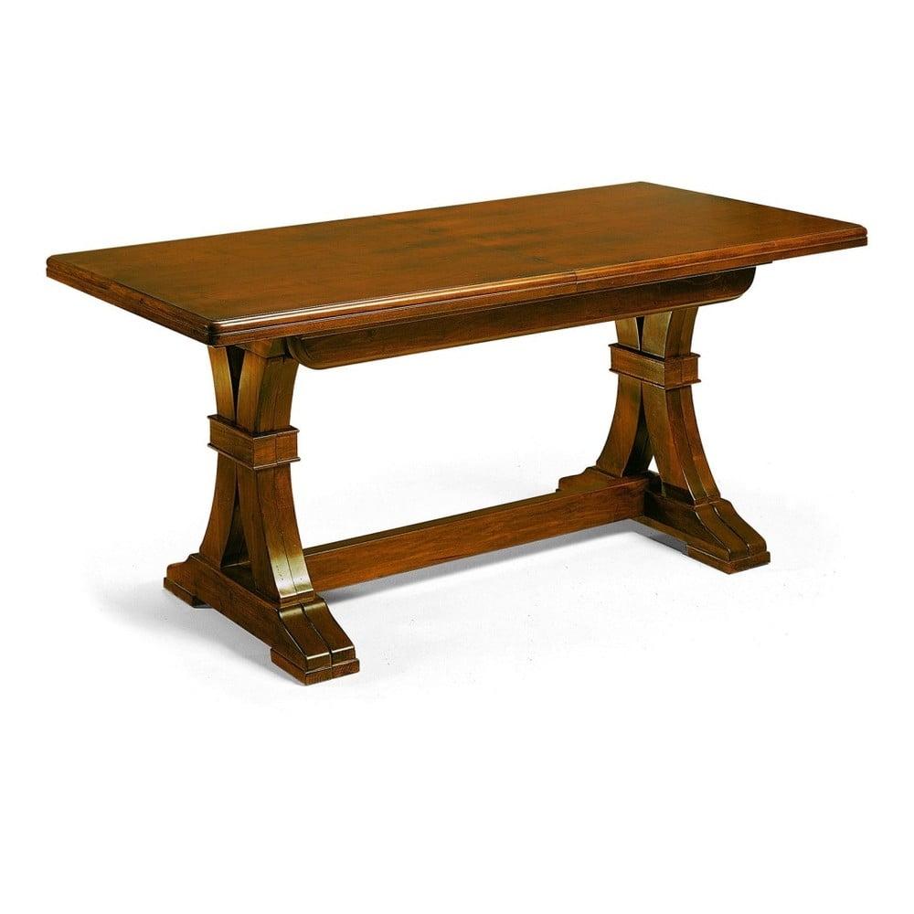 Dřevěný rozkládací jídelní stůl Castagnetti Robusto, 160 x 80 cm