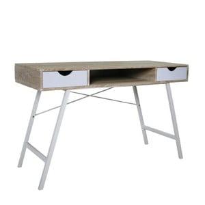 Pracovní stůl B140, bílý