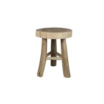 Taburet/scaun din lemn HSM collection imagine