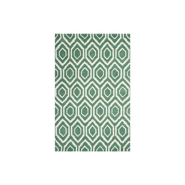 Vlněný koberec Essex 152x243 cm, zelený