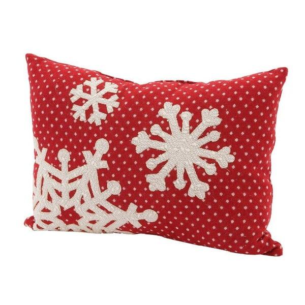 Polštář Snowflake, 45x33 cm
