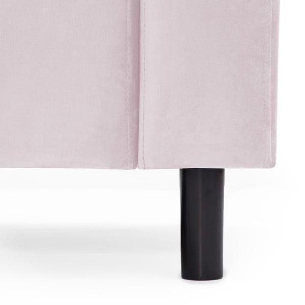 Světle růžová dvoumístná pohovka Vivonita Milo