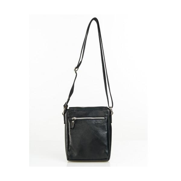Kožená taška Florian, černá