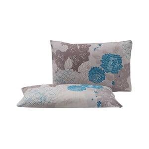 Sada 2 povlaků na polštář z perkálové bavlny Bella Maison Mist,50x70cm