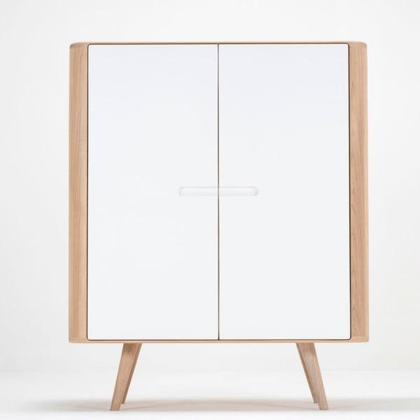 Szafka z drewna dębowego Gazzda Ena, 90x110 cm