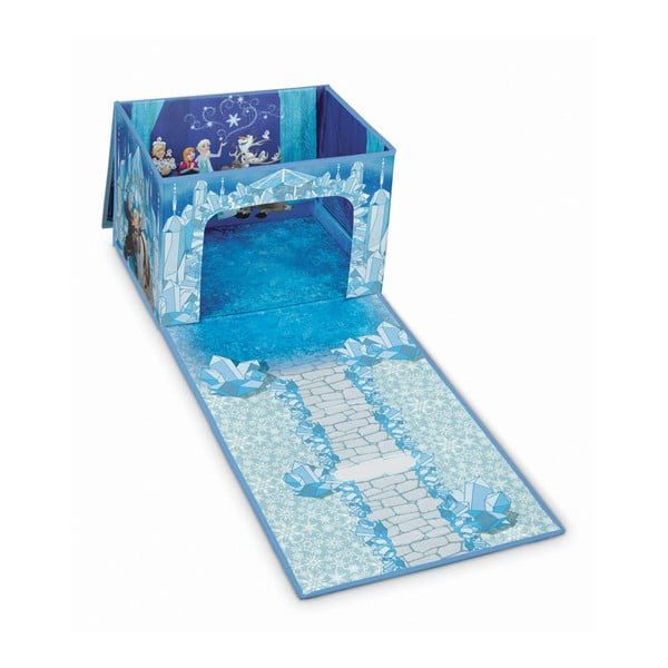 Cutie depozitare pliabilă Domopak Frozen, albastru