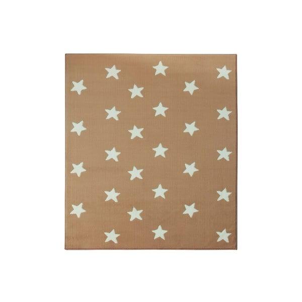 Dětský béžový koberec Hanse Home Stars, 140x200 cm