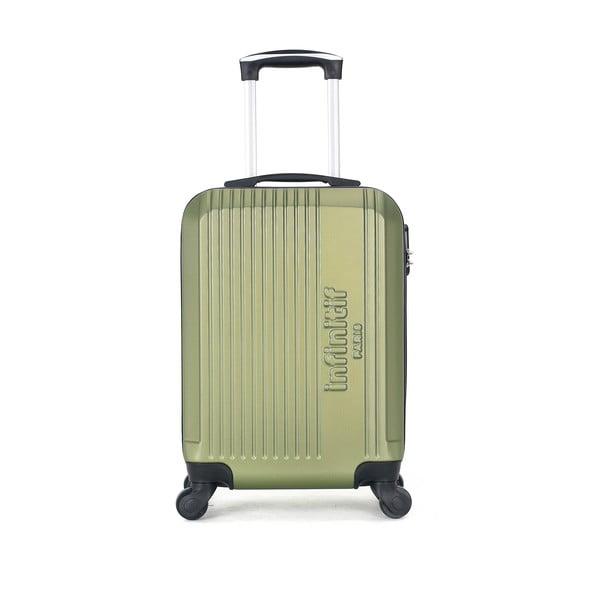 Zelené skořepinové zavazadlo na 4 kolečkách Vertigo Mount Cameroon