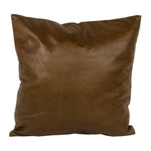 Polštář ve vzhledu kůže 40x40 cm