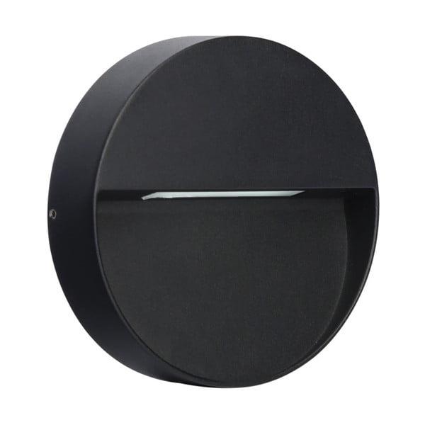 Kamal sötétszürke, kerek fali lámpa, ø 15 cm - SULION