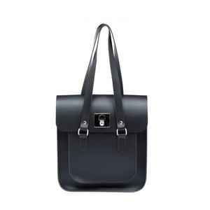 Kožená kabelka Rosemont Black/Royal Blue