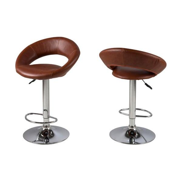 Barová židle Plump, brandy