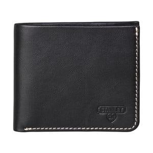 Černá kožená peněženka Gentlemen's Hardware Stanley Tools Bi Fold