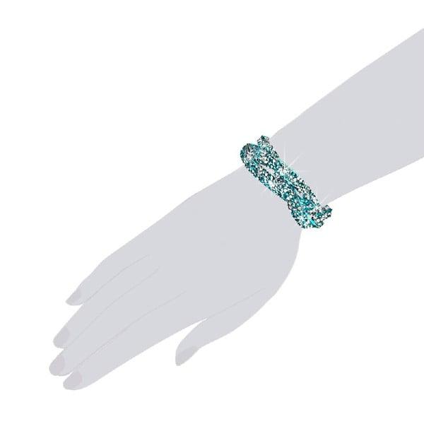 Náramek Turquoise, 19 cm