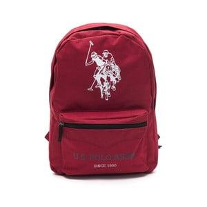 Červený pánský batoh U.S. Polo Sport, 30 x 44 cm