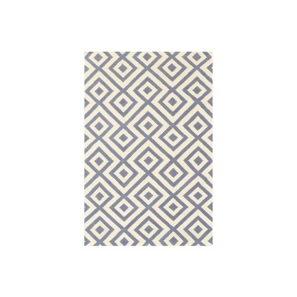 Vlněný koberec Luisa Grey, 180x120 cm