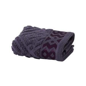 Švestkově fialový ručník Bella Maison Mosaic, 30x50cm