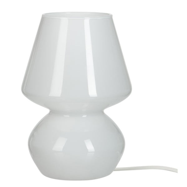 Stolní lampa Harm Glass, 16x23 cm