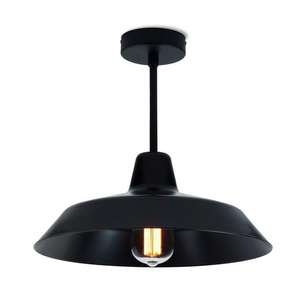 Černé stropní svítidlo Bulb Attack Cinco