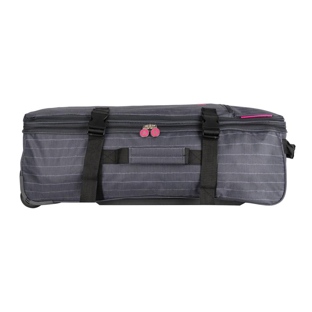 Produktové foto Šedá cestovní taška na kolečkách Lulucastagnette Rallas, 91l