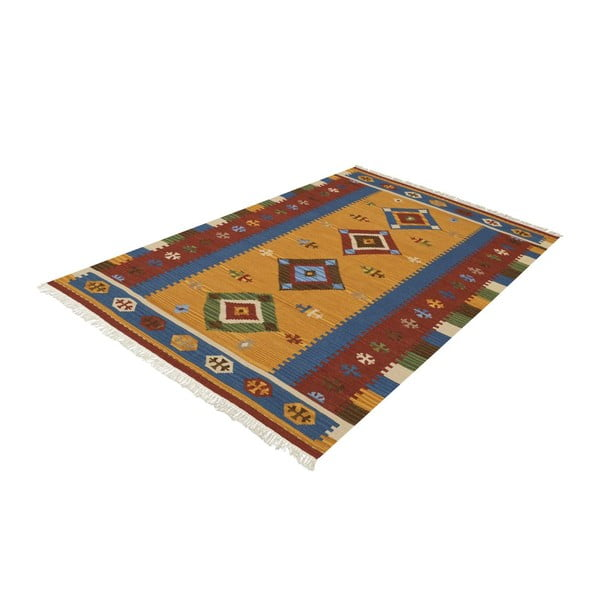 Ručně tkaný koberec Kilim Classic K12 Mix, 155x215 cm