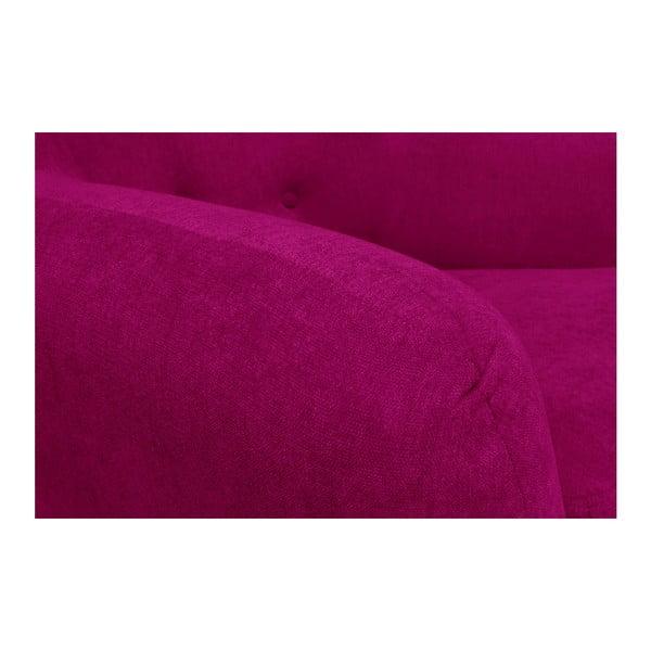 Růžová pohovka pro tři Cosmopolitan design Hampstead