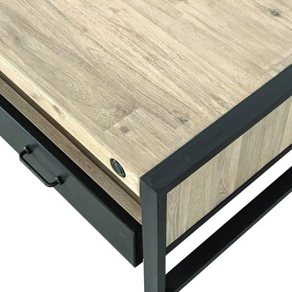Konfereční stolek s šuplíky z akáciového dřeva sømcasa Boston