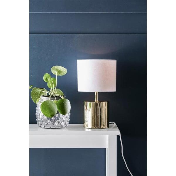 Zlatá stolní lampa Markslöjd Ines