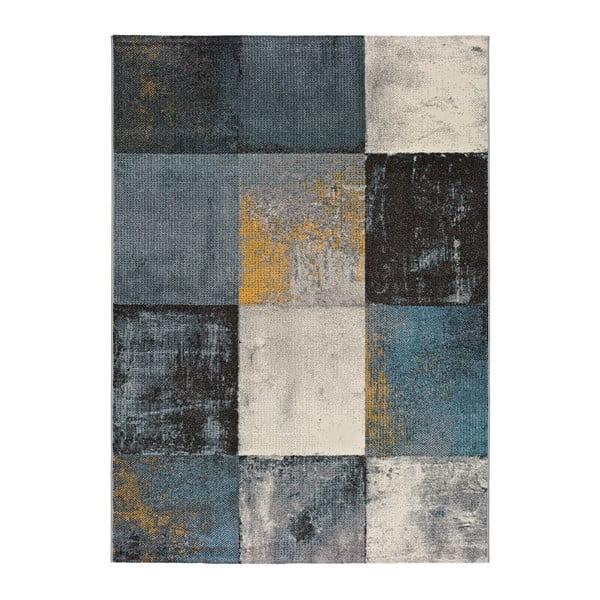 Szary dywan odpowiedni na zewnątrz Universal Adra Azulo, 133x190 cm