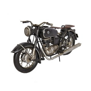 Dekorativní motorka Antic Line Noire