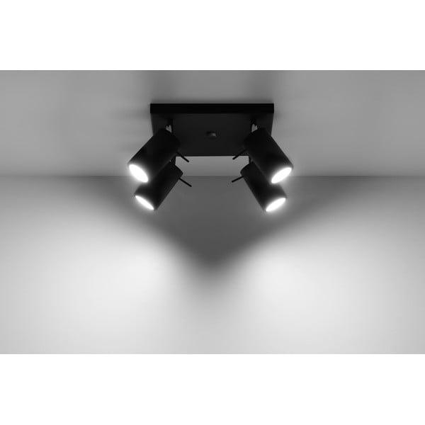 Plafonieră Nice Lamps Ethna 4 Black