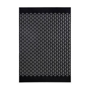 Černý koberec Zala LivingTwist, 200x290cm