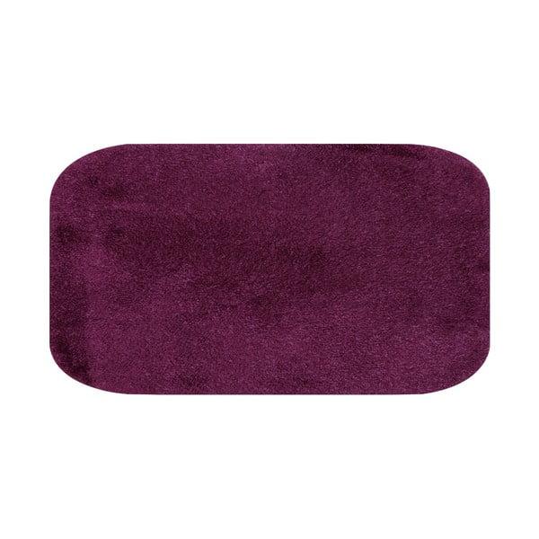 Fioletowy dywanik łazienkowy Confetti Miami, 57x100 cm