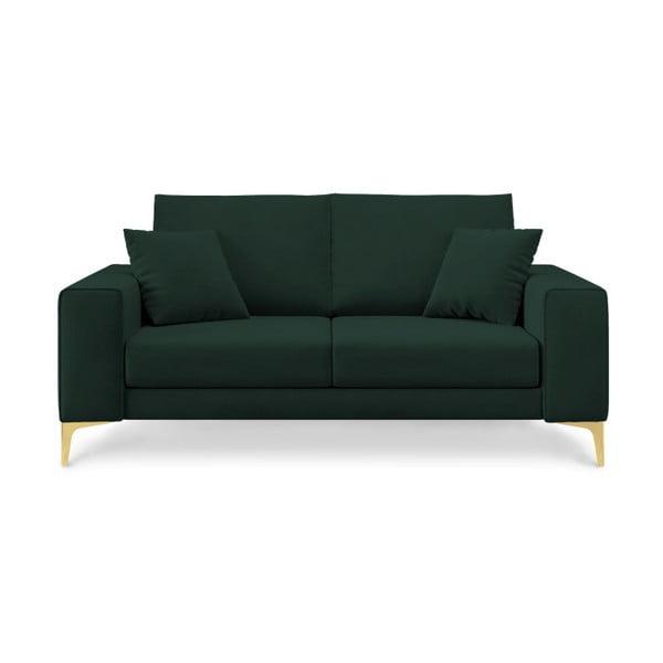 Canapea cu 2 locuri Cosmopolitan Design Basel, verde