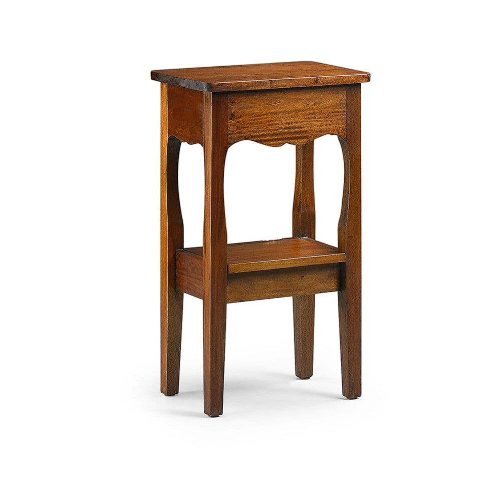 Odkládací stolek s zásuvkou z mahagonového dřeva Moycor Telephone