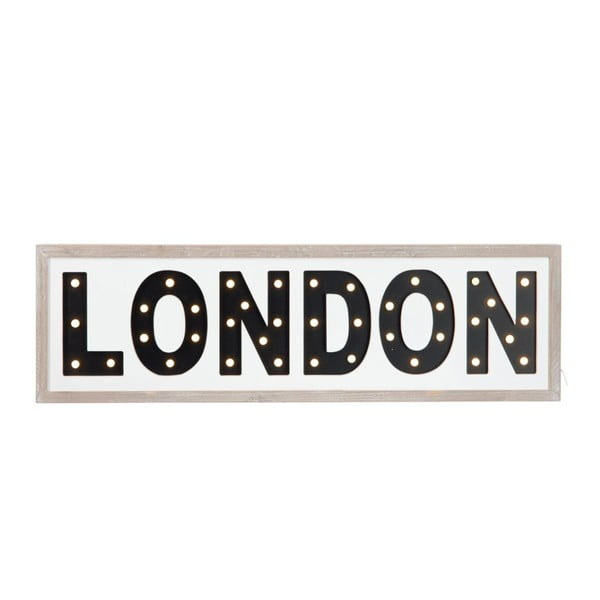 LED cedule London Black